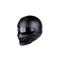 scorpion exo-combat mono nero opaco casco
