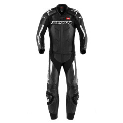 spidi supersport touring nero / bianco tuta pelle