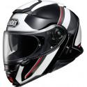 Shoei neotec 2 excursion TC6 white / black casco modulare