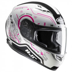Hjc CS15 safa MC8 casco