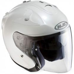 Hjc FG-jet semi pearl white ryan Casco