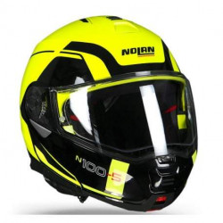 Nolan N 100.5 consistency led yellow 26 casco integrale