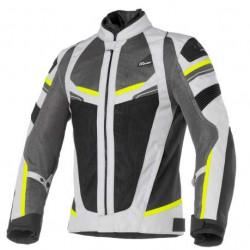 Cover rainjet WP lady giallo/grigio giacca estiva