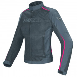 Dainese Hydra-flux D-Dry lady nero/grigio/fucsia giacca