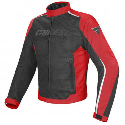 Dainese Hydra-flux D-Dry nero/rosso/bianco fluo giacca