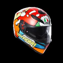 agv k3 sv bulega top pinlock replica casco