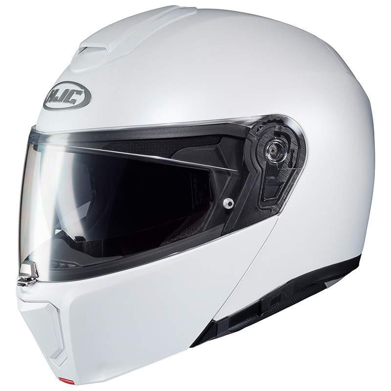 HJC RPHA 90 semi flat silver casco