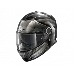 Shark Spartan KUK black/chrome Casco