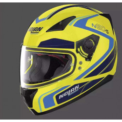 Nolan n60.5 praticte led yellow casco integrale
