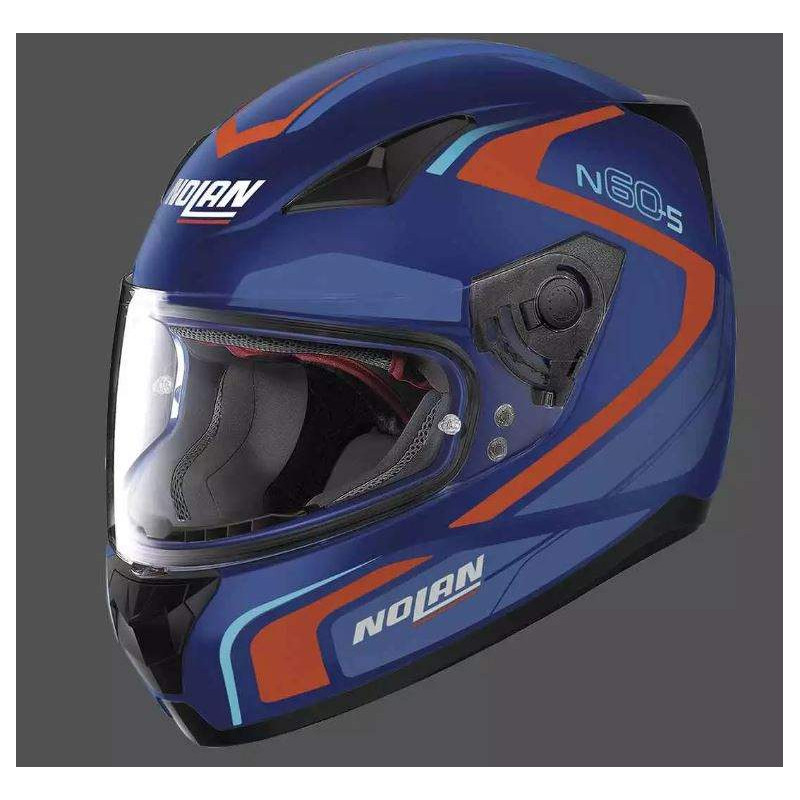 Nolan n60.5 praticte flat black casco integrale