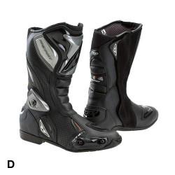 prexport sonic nero/bianco stivali