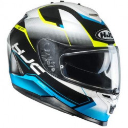 HJC IS-17 BARBWIRE MC31 casco