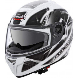 Caberg ego ultralight white/black casco