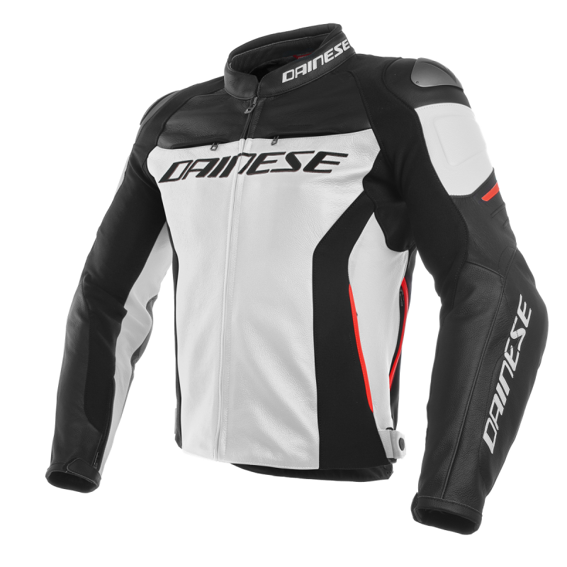 Dainese Pelle Moto Giacca 3 Charlie Bianconerorosso Racing rXqIar