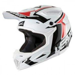 leatt GPX 4.5 V24 black/brushed casco offroad