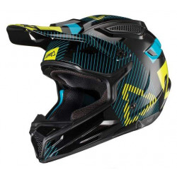 leatt GPX 4.5 V20 white/black casco offroad