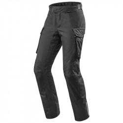 Rev'it outback nero pantaloni tre strati