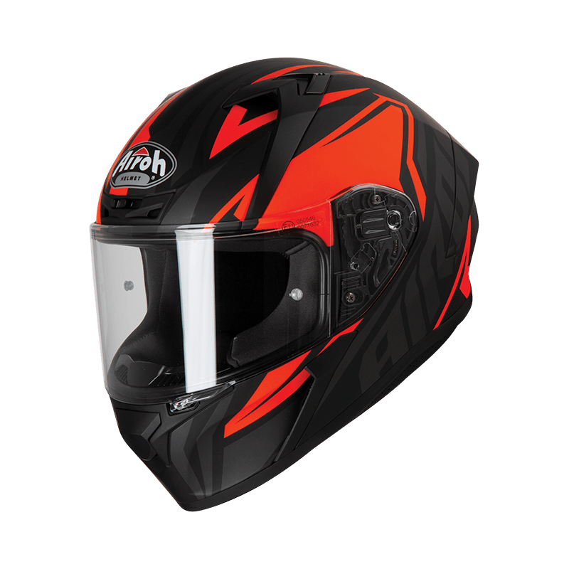 Airoh valor impact orange casco