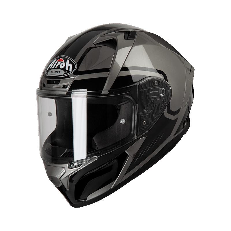 Airoh valor marshall grey gloss casco