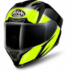 Airoh valor eclipse yellow gloss casco