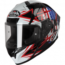 Airoh valor sam black gloss casco