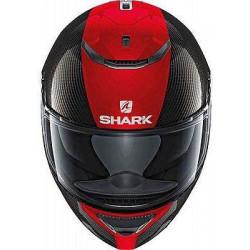 Shark Spartan Carbon Skin DRR Striscia Rossa