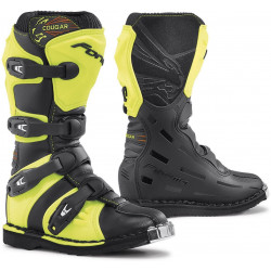 STIVALI OFFROAD COUGAR BLACK / YELLOW FLUO | FORMA BOOTS