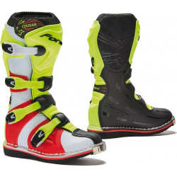 STIVALI OFFROAD COUGAR BLACK / YELLOW FLUO / RED | FORMA...