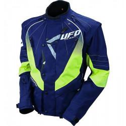 Giacca Offroad  ENDURO Jacket Blu Giallo Fluo | UFO