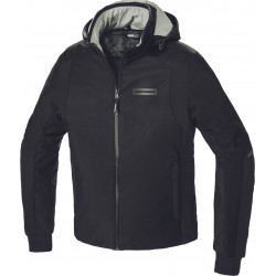 Giacca H2Out Hoodie Armor Nero | SPIDI