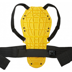Paraschiena Back Warrior Evo Nero Giallo | SPIDI