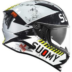 CASCO SPEEDSTAR PROPELLER MATT SILVER/BLACK | SUOMY