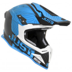 CASCO OFFROAD J12 SYNCRO CARBON/ BLUE | JUST1