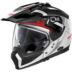 CASCO CROSSOVER N70.2 X BUNGEE N-COM 039 BIANCO ROSSO |...