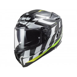 CASCO FF327 CHALLENGER CT2 FLAMES WHITE YELLOW | LS2