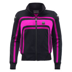 GIACCA DONNA EASY RIDER WOMAN BLACK VIOLET | BLAUER HT