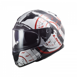 CASCO FF320 STREAM EVO TACHO GL.WHITE BLACK RED | LS2