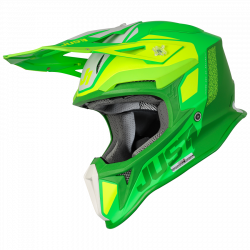 CASCO J18 MIPS PULSAR FLUO LIME GREEN (MATT) | JUST1