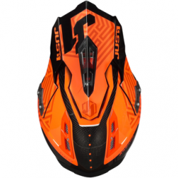 CASCO J12 Syncro Fluo Orange Carbon - Gloss | JUST1
