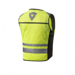rev'it atos air 2 neon giallo gilet alta visibilità