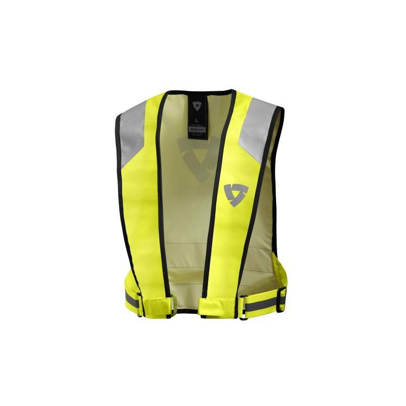 rev'it hv connector neon giallo gilet alta visibilità