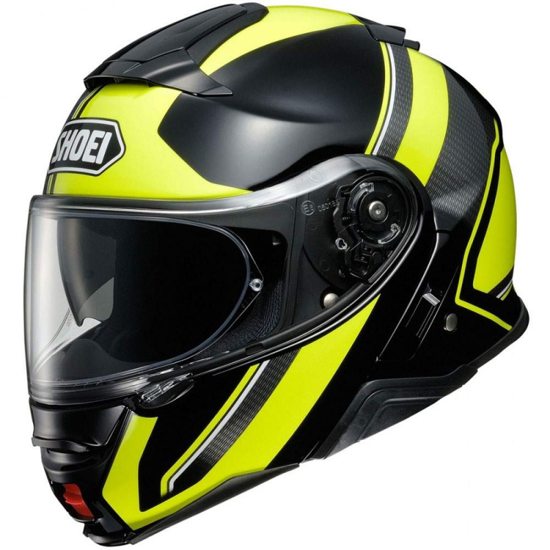 Shoei neotec 2 excursion TC6 white / black casco modulare