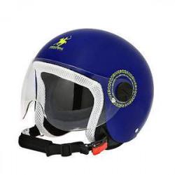 rodeo RD109 blu giallo kid casco jet bambino