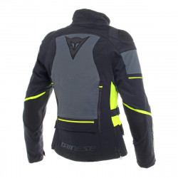 dainese carve master 2 lady Gore-Tex nero / giallo fluo giacca impermeabile