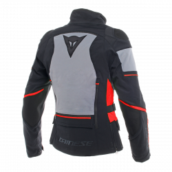 dainese carve master 2 lady Gore-Tex nero / rosso giacca impermeabile