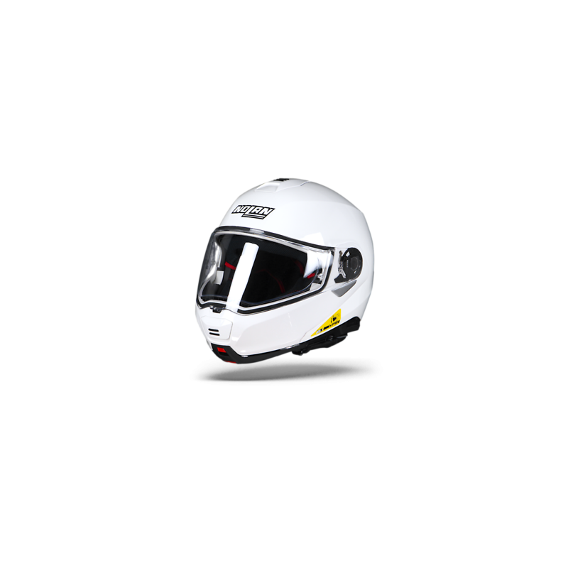 Nolan N 100.5 classic metal white 5 casco integrale