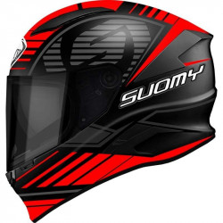 suomy speedstar sp - 1 matt red casco integrale