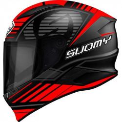 suomy speedstar sp - 1 matt red casco integrale