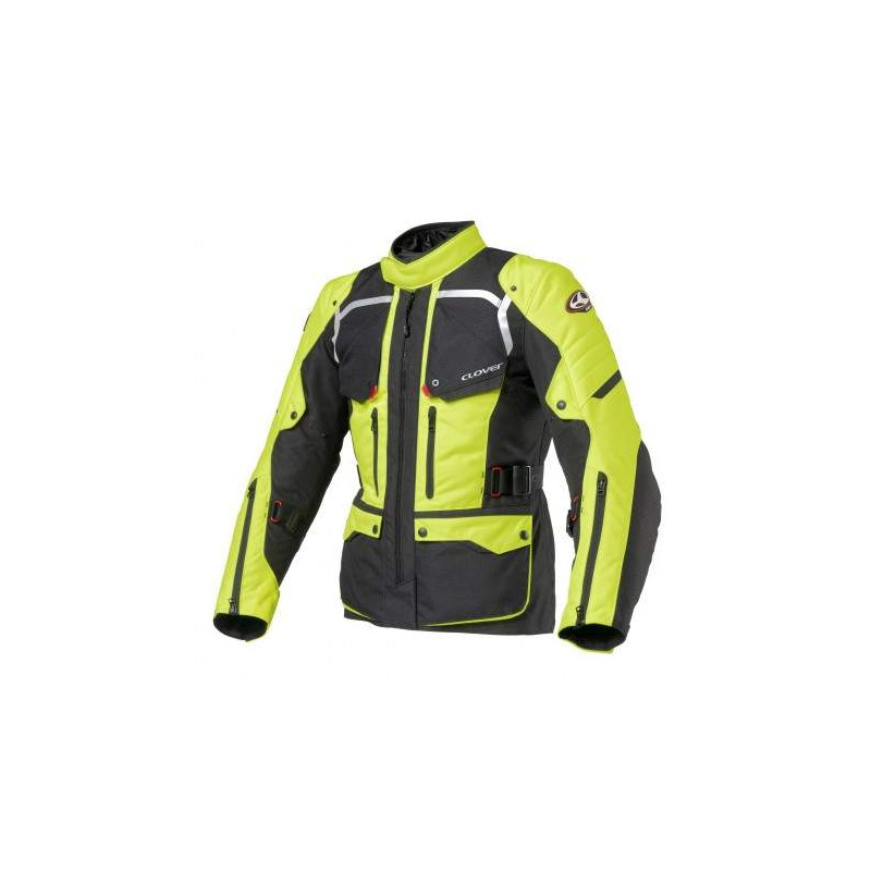 clover savana 2 nero / blu giacca tre strati