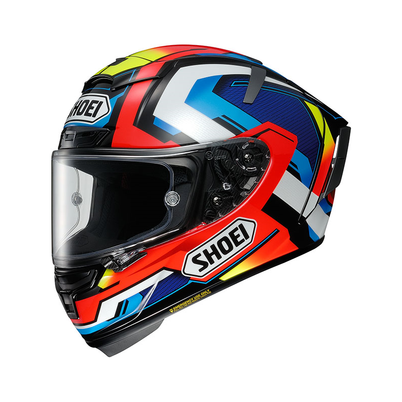 Shoei X Spirit 3 brink tc2 casco